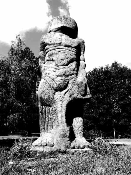 David statue by Biebl and Gröszer, East Germany 1989