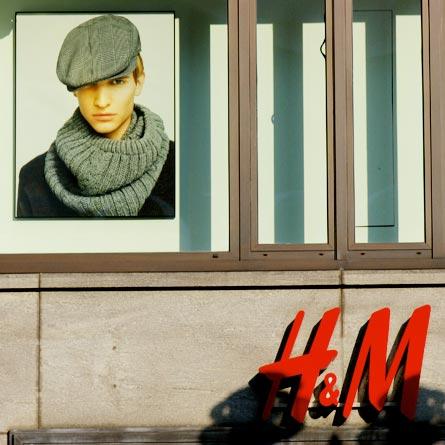 H & M model
