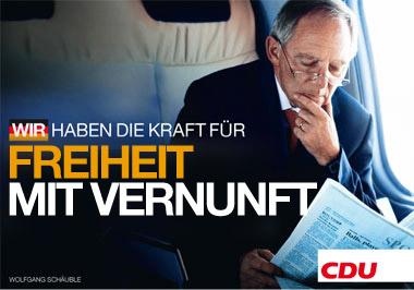 Schäubleremix: Freiheit mit Vernunft
