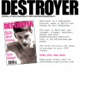 Destroyer, the very first website, 2006