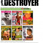 The Destroyer site early 2008, just before the launch of the blog