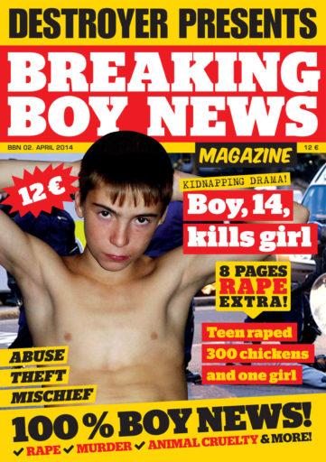Breaking Boy News Magazine