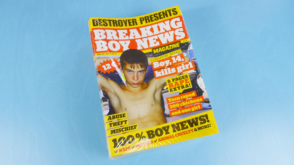 Breaking Boy News Magazine