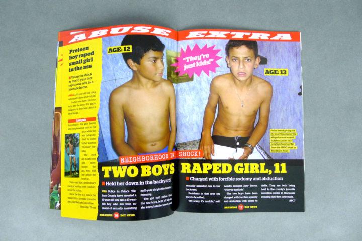 Breaking Boy News free sample image