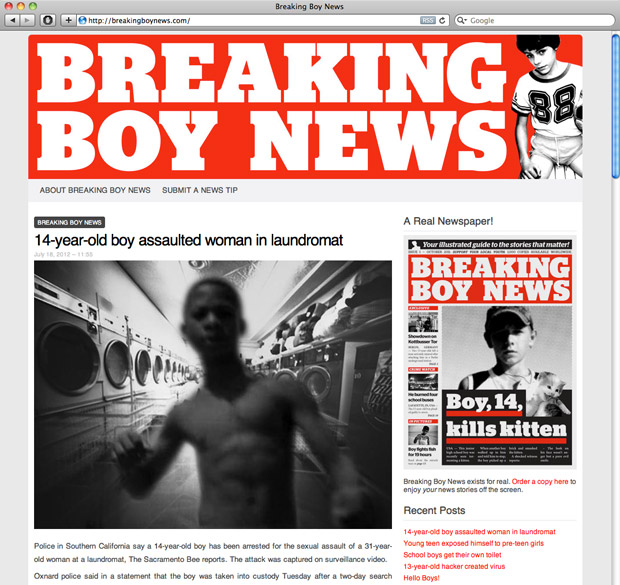 Breaking Boy News