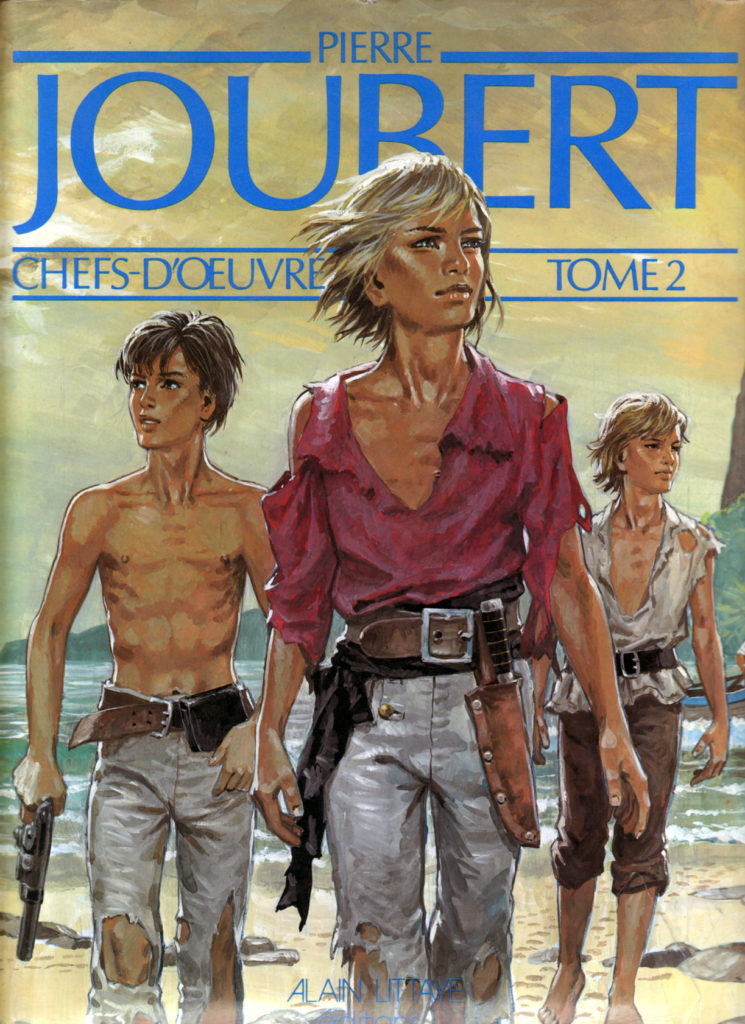 Pierre Joubert: Chefs-d'Oeuvre, volume 2, Edition Alain Littaye. Cover art.