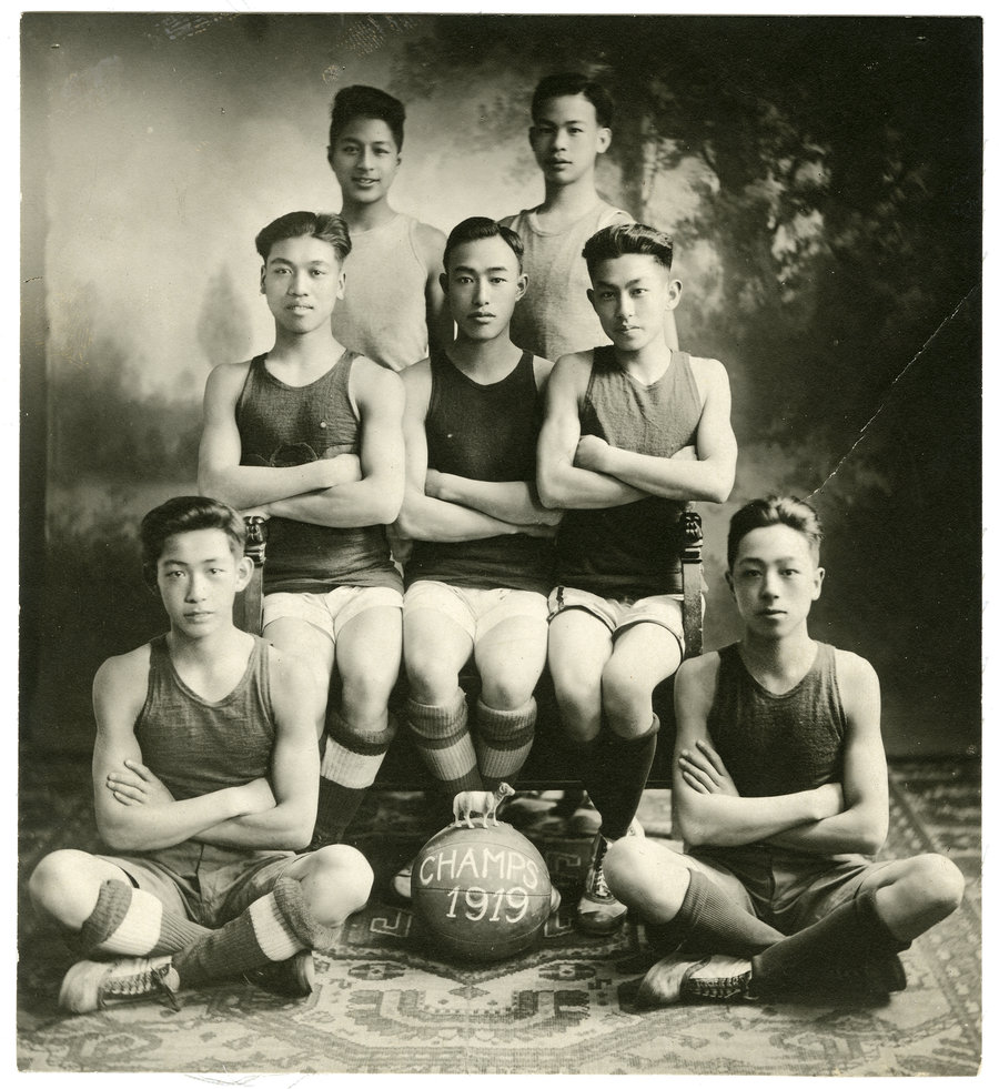 chinese_basketball_team_1919