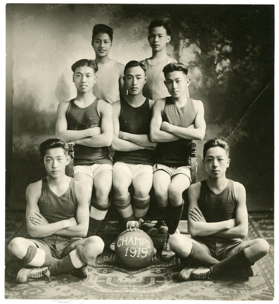 chinese_basketball_team_1919