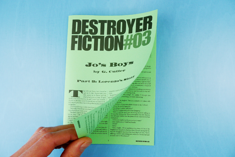 Destroyer Fiction 03