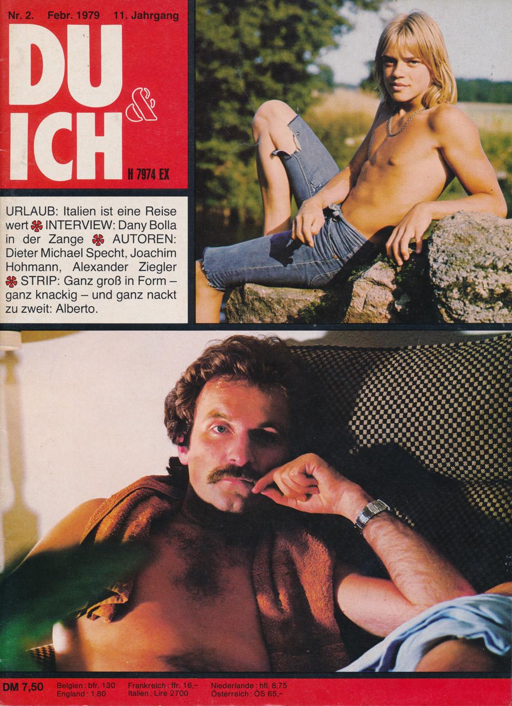 Du & Ich Nr 2, 1979. Titelseite.
