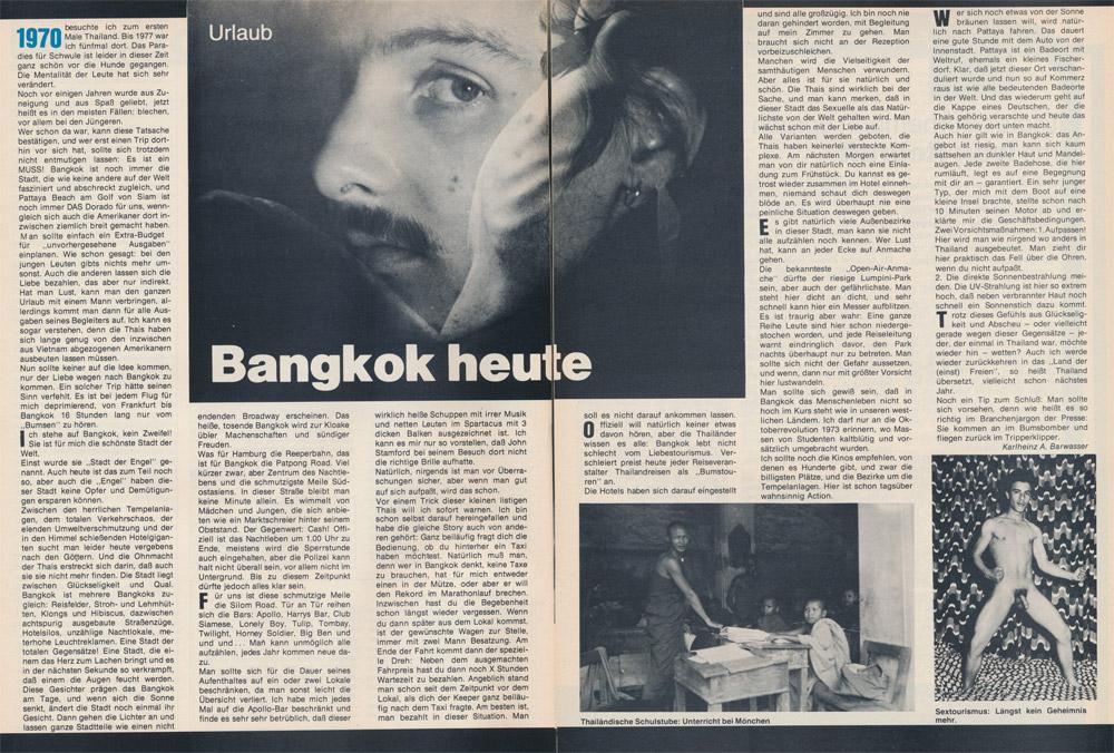 Du & Ich 3, 1979: Bankok heute