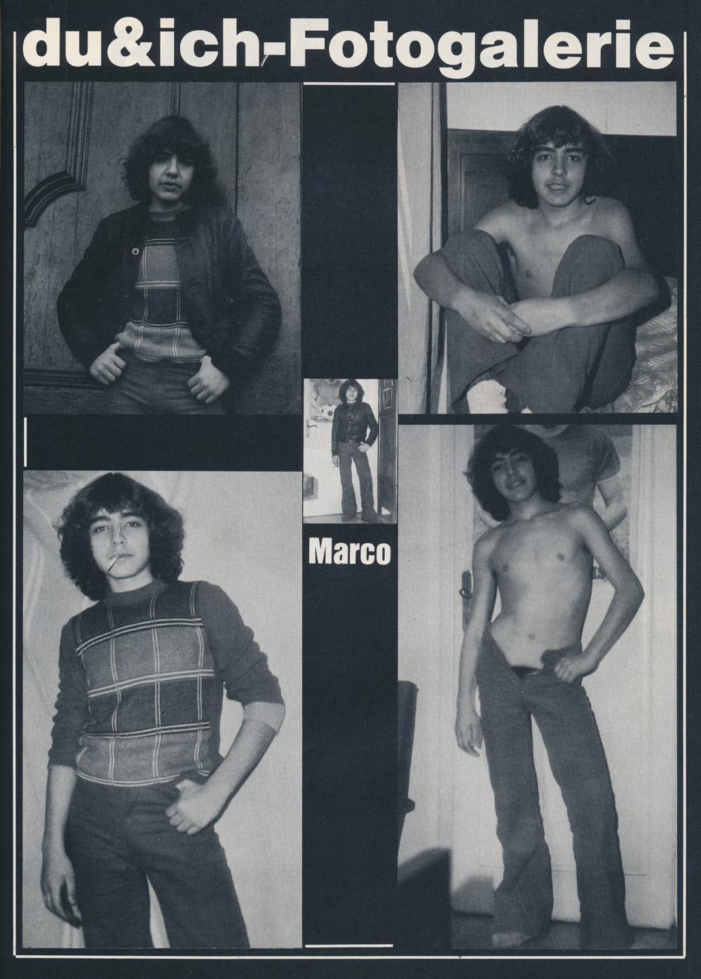 Du & Ich 8, 1979, shirtless boy Marco