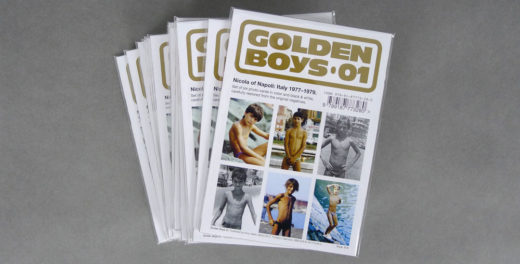 Golden Boys 01 postcards