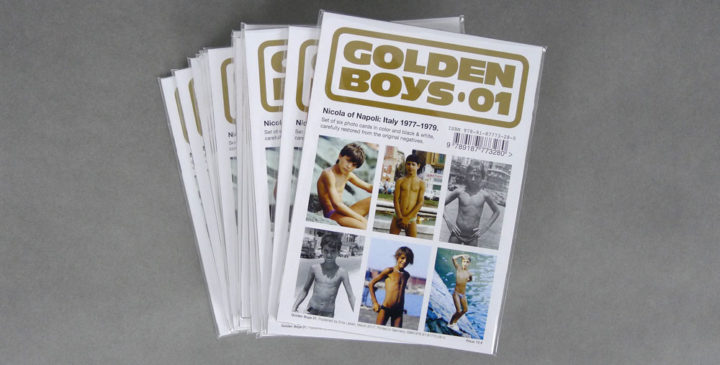 Golden Boys 01 postcards