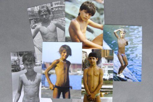 Golden Boys 01 features six boys