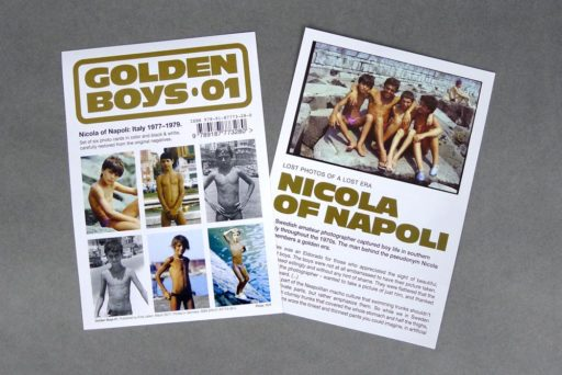 Golden Boys 01 comes with an inset