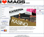 The first launch of I Love Mags 2008
