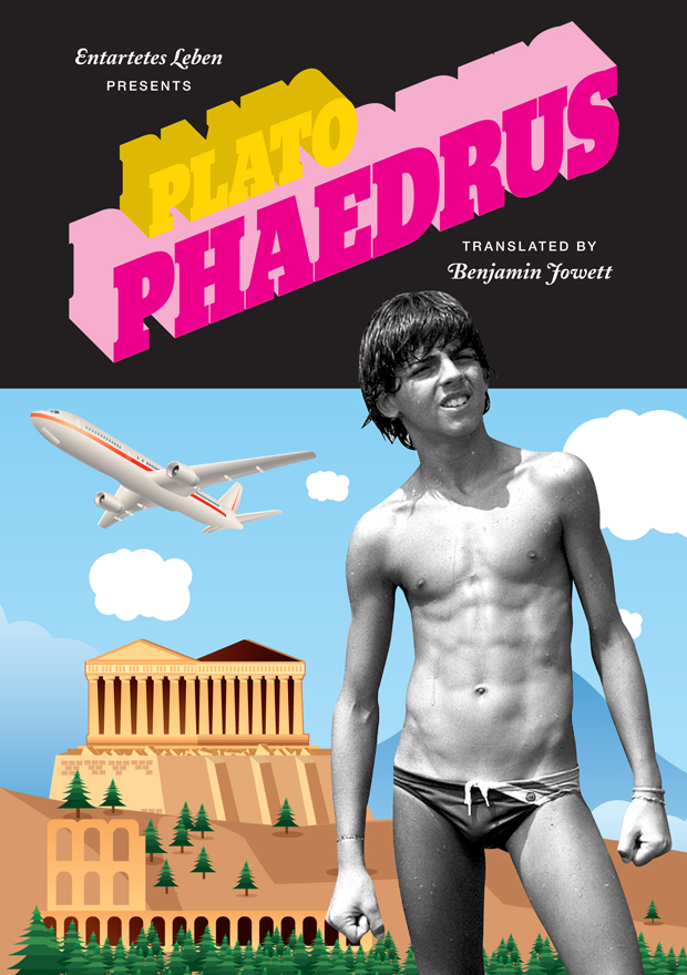 Plato: Phaedrus. Book cover.