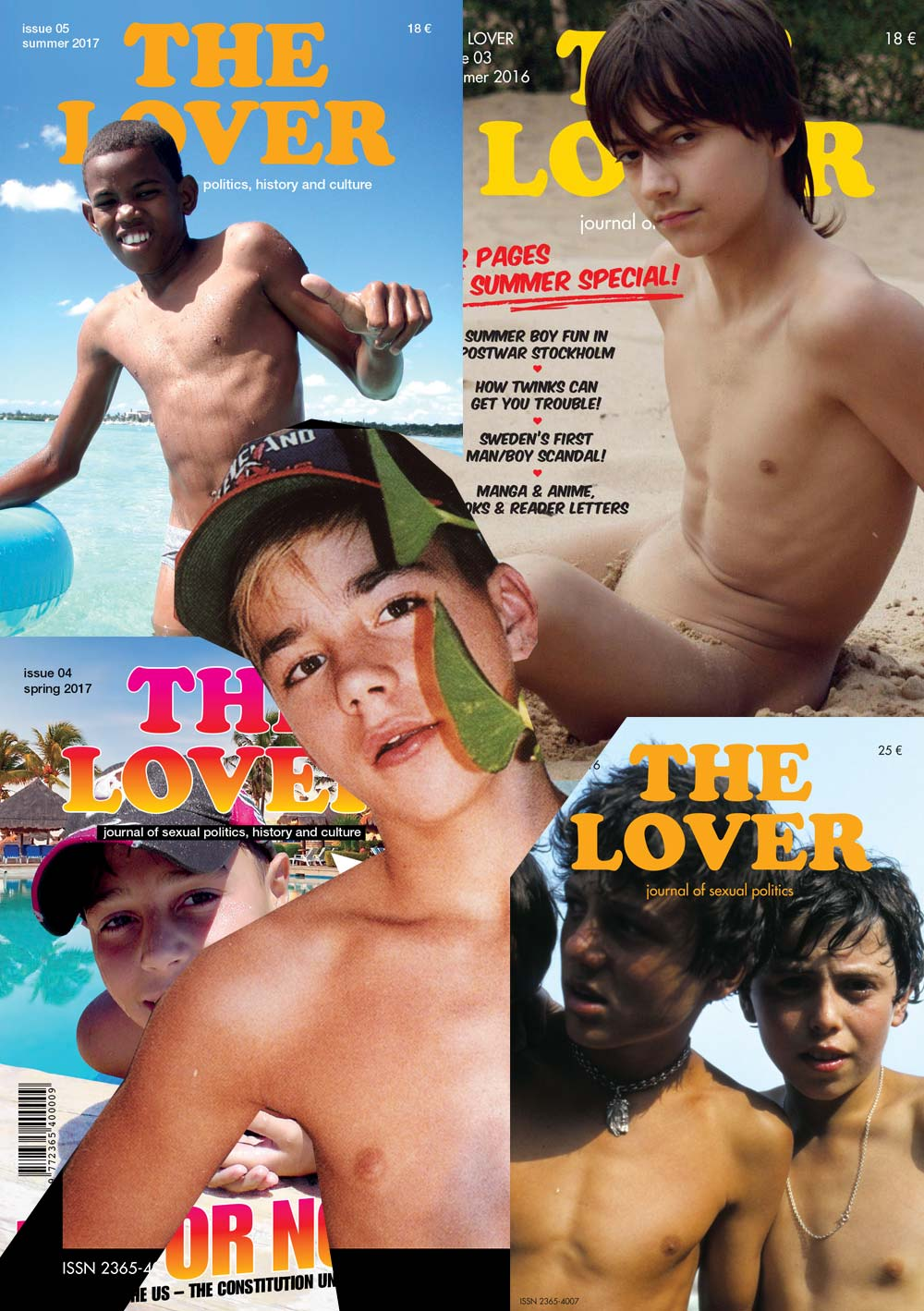The Lover Magazine PDF download bundle