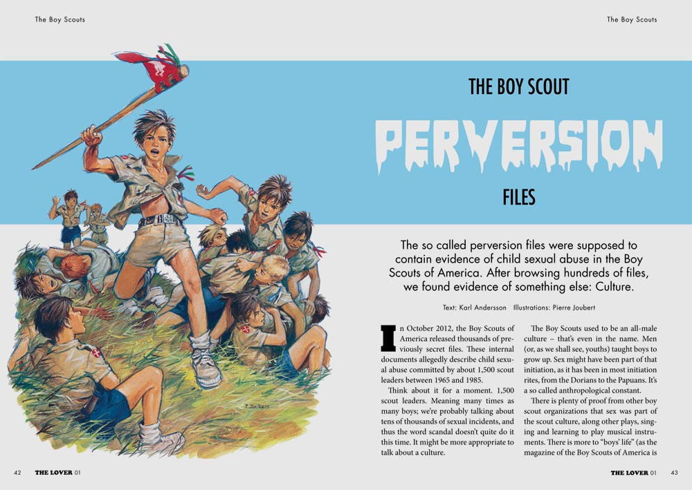 The Lover 01: The Boy Scouts