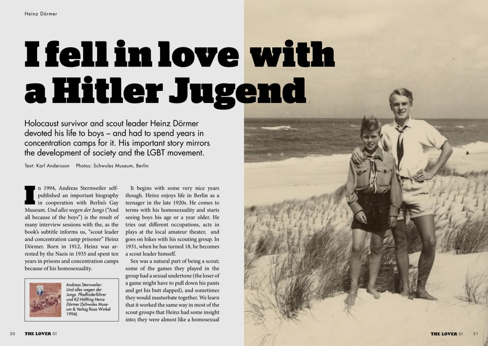 The Lover 01: Hitler Jugend
